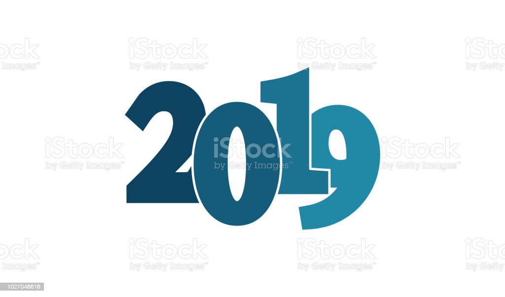 happy new year 2019 background simple flat style royalty free happy new year 2019