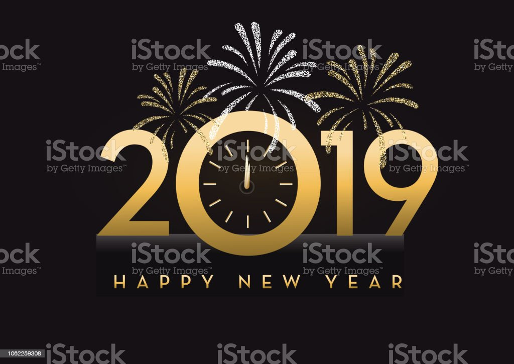 canada 2019 art product banner sign black color happy new year