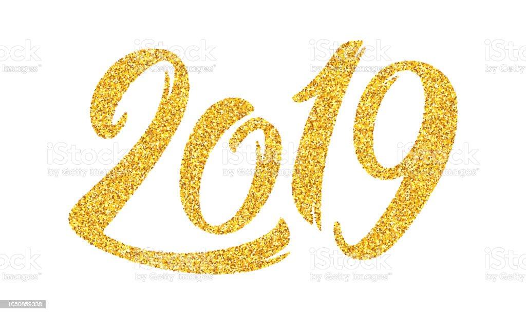 Heureuse Nouvelle Année 2019 Carte De Voeux Modèle De