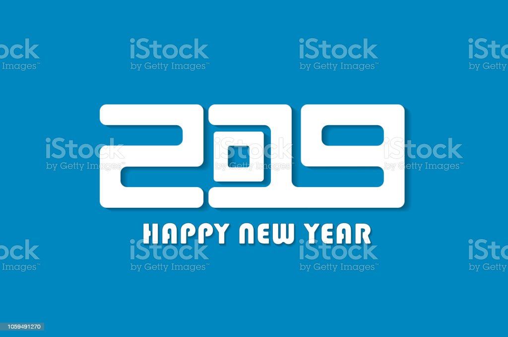 happy new year 2019 sign concept vector illustration royalty free happy new year 2019
