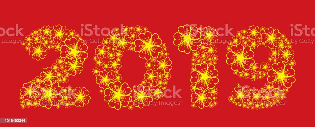 happy new year 2019 royalty free happy new year 2019 stock vector art