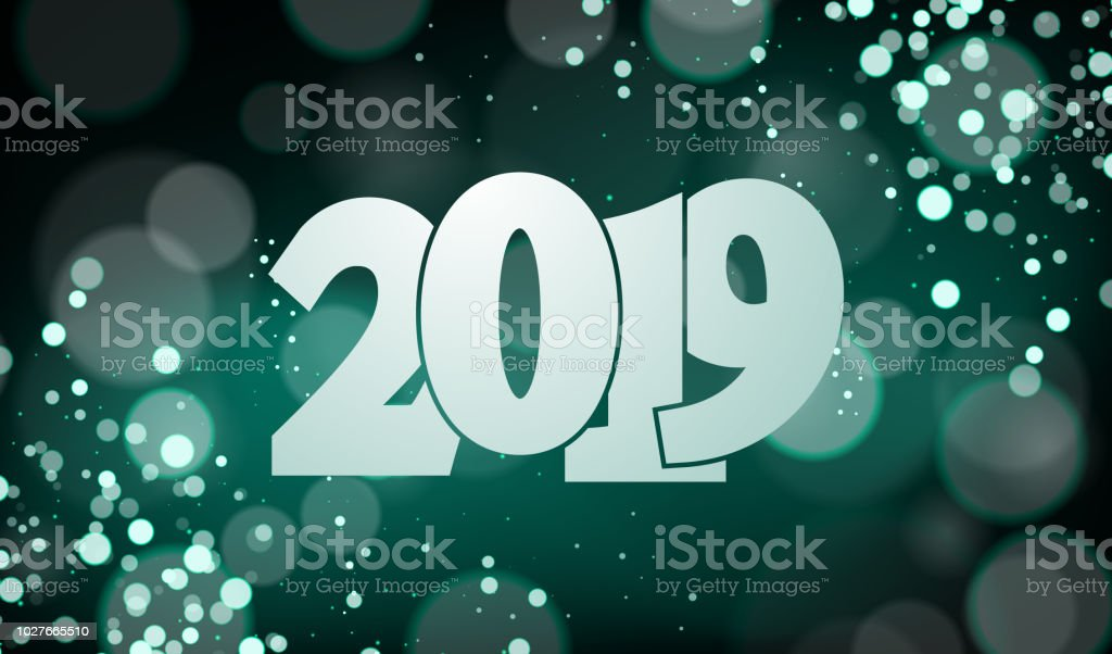 happy new year 2019 vector illustration suitable for wallpaper background banner card
