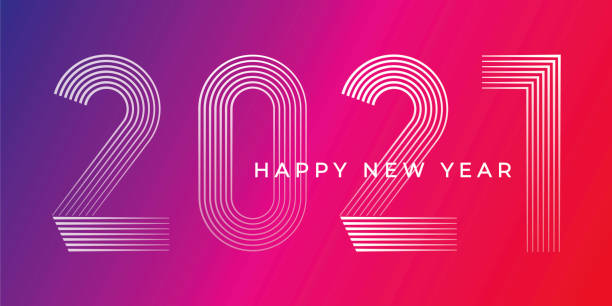 Happy New Year 2021 Background. Happy New Year 2021 Background. Stock illustration new years day stock illustrations