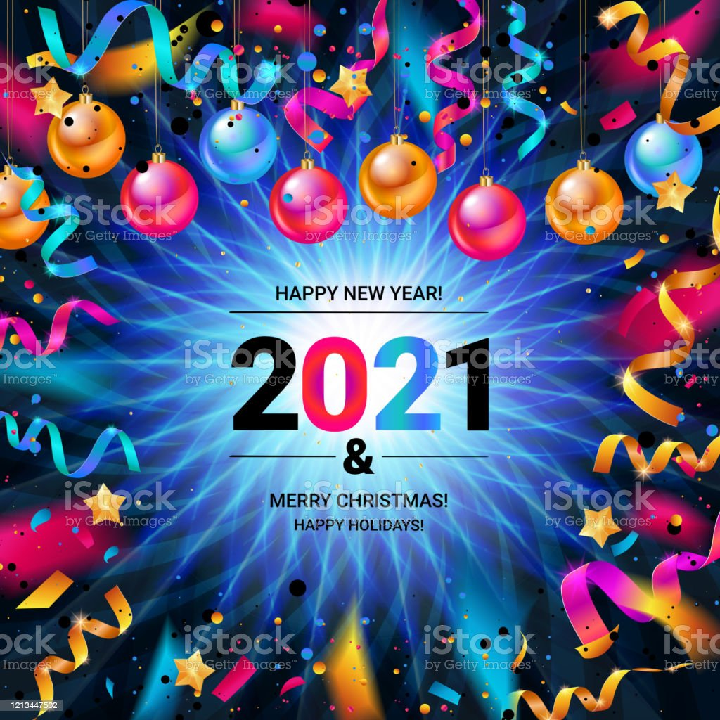 Happy New Year 2021 Stock Illustration Download Image Now Istock