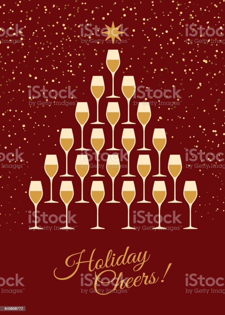 happy new year and cheers greeting card royalty free happy new year and cheers greeting