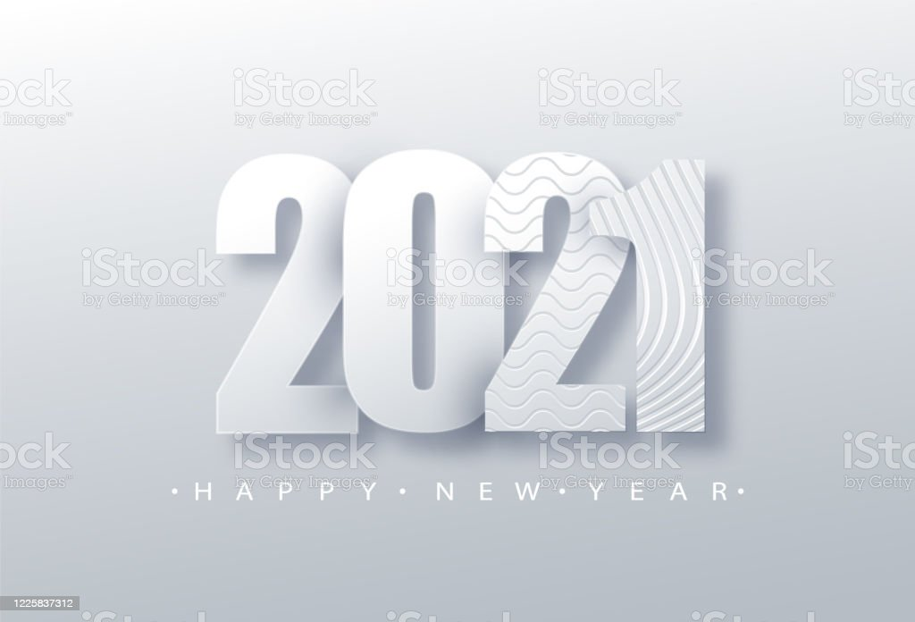 2021 happy new year background 2021 number paper art text design holiday illustration stock illustration download image now istock https www istockphoto com vector 2021 happy new year background 2021 number paper art text design holiday gm1225837312 360965233