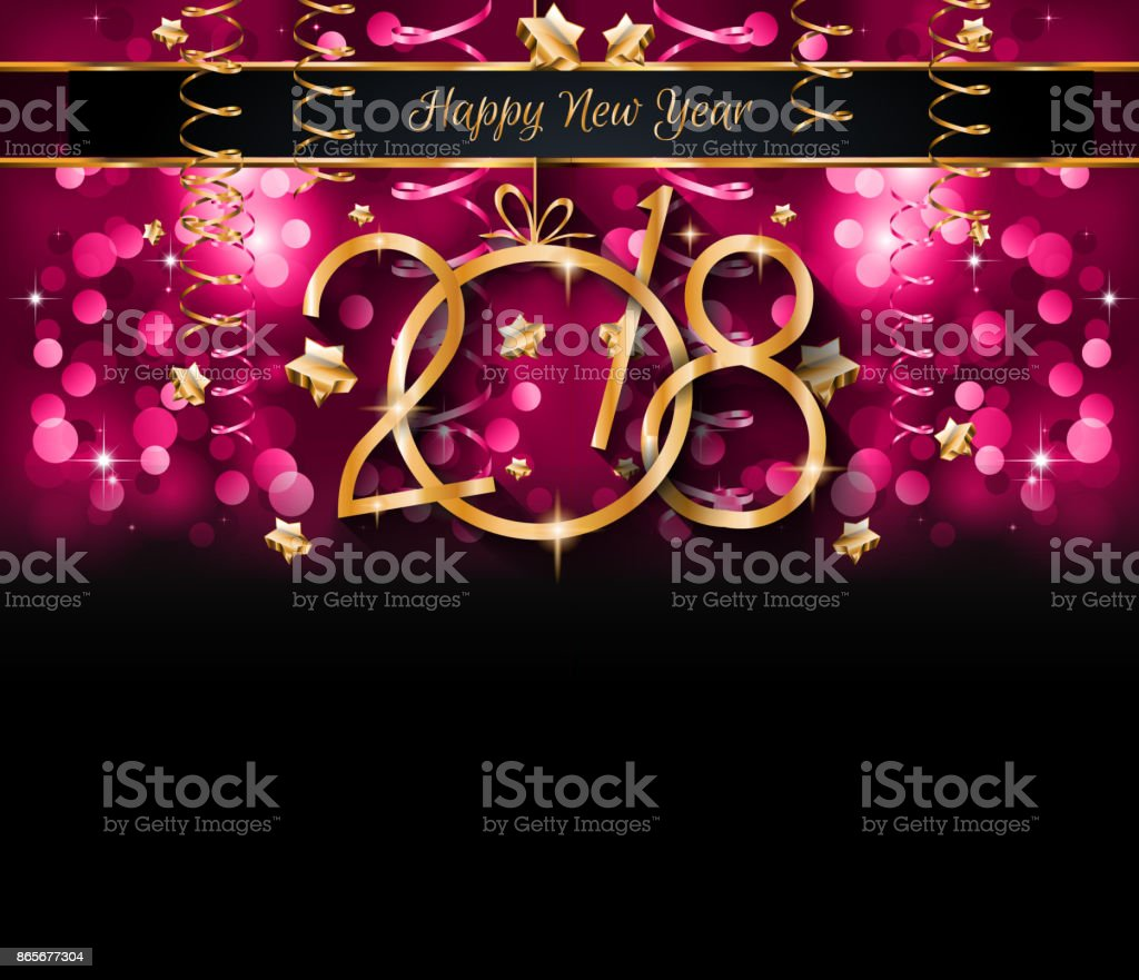 2018 happy new year background for your seasonal flyers and greetings card royalty free 2018