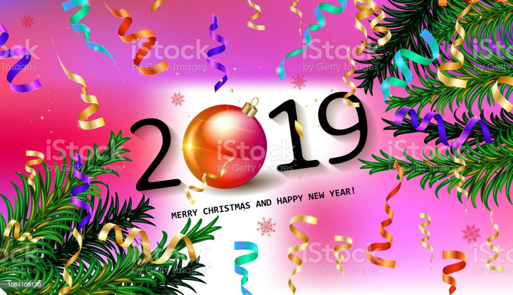 2019 happy new year background royalty free 2019 happy new year background stock vector art