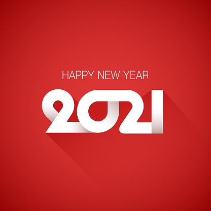 2021 Happy New Year Background