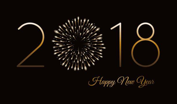 花火背景で新年あけましておめでとうございます。 - 大晦日点のイラスト素材/クリップアート素材/マンガ素材/アイコン素材