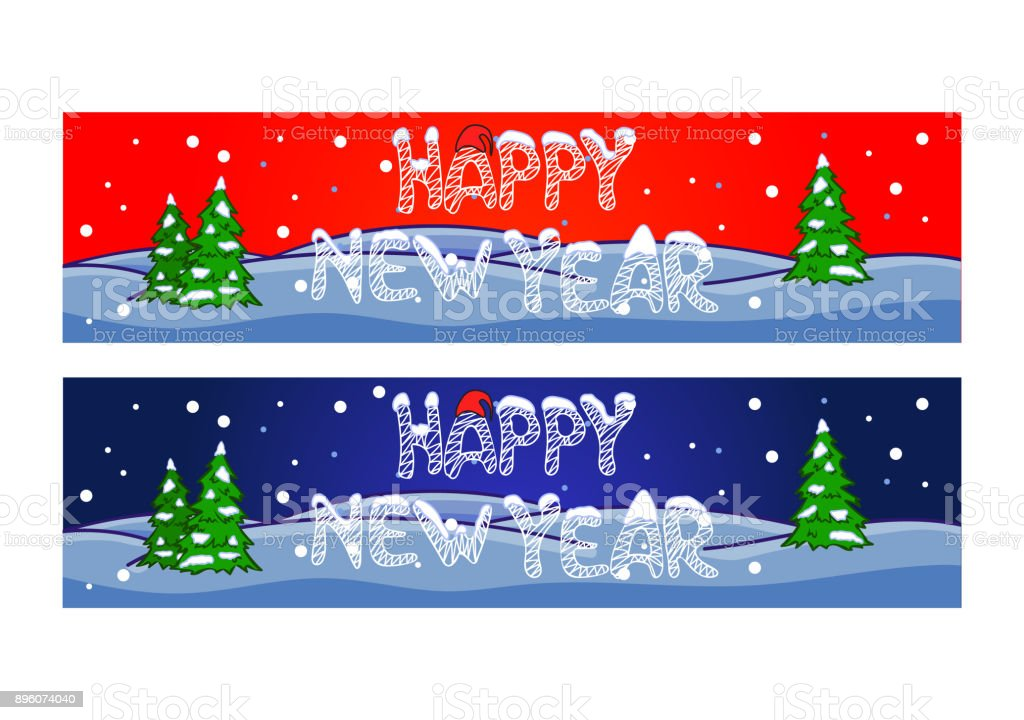 happy new year banner royalty free happy new year banner stock vector art