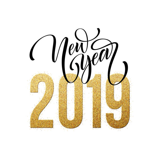 Top 60 Happy New Year 2019 Clip Art Vector Graphics And