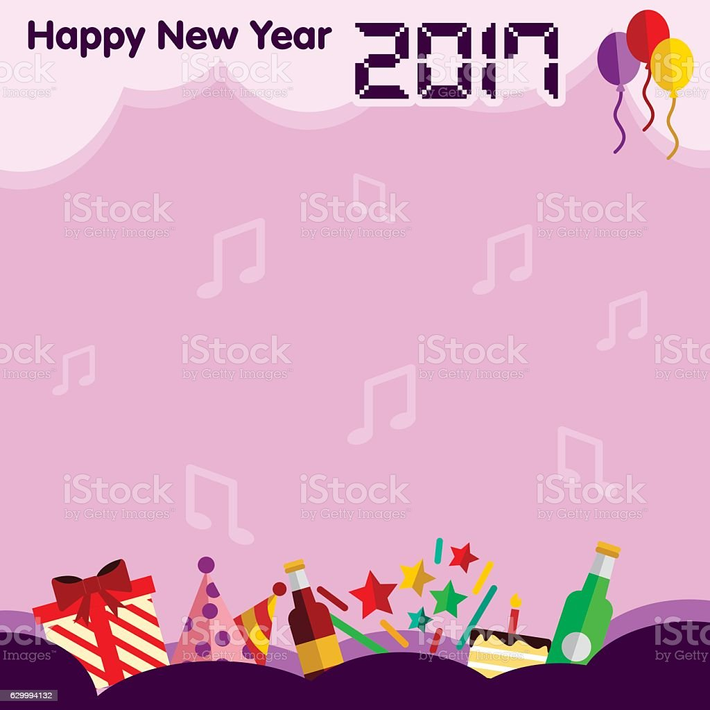 happy new year border royalty free happy new year border stock vector art