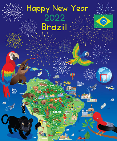 Happy New Year Brazil