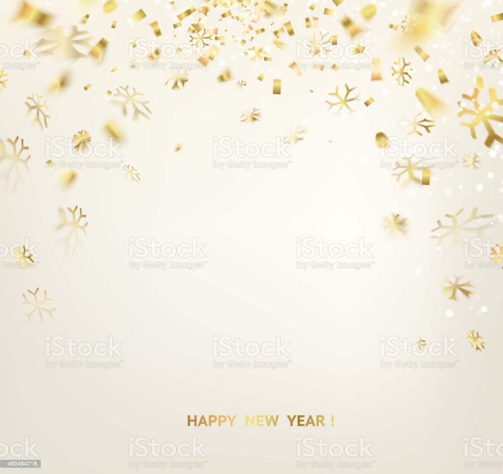Happy New Year Card Template Stock Vector Art & More Images of 2015 ...