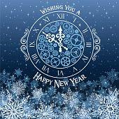 istock Happy New Year Card 498336456