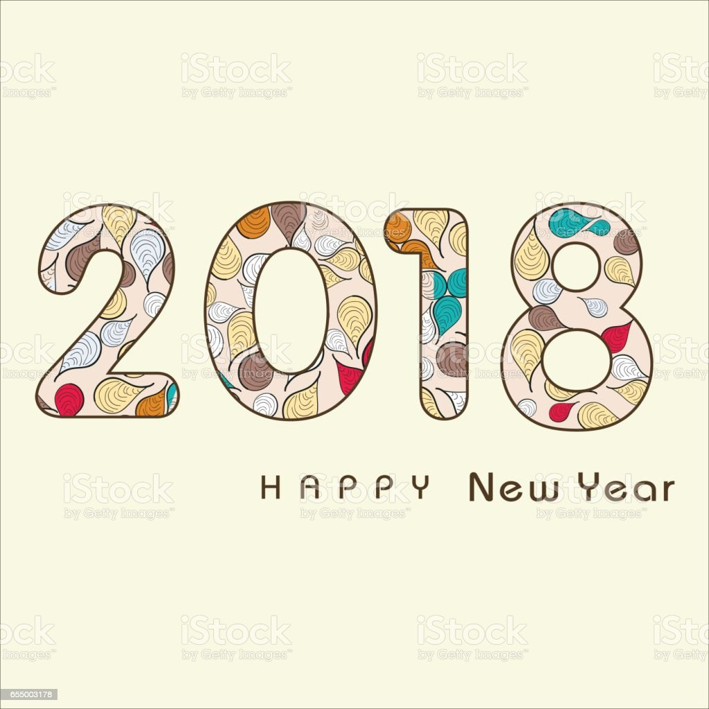 2018 happy new year creative design background happy new year stock 2018 happy new year creative design background happy new year royalty free 2018 happy voltagebd Images
