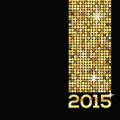 happy new year glitter 2015 background