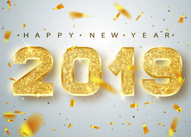 Image result for happy new year clipart 2019