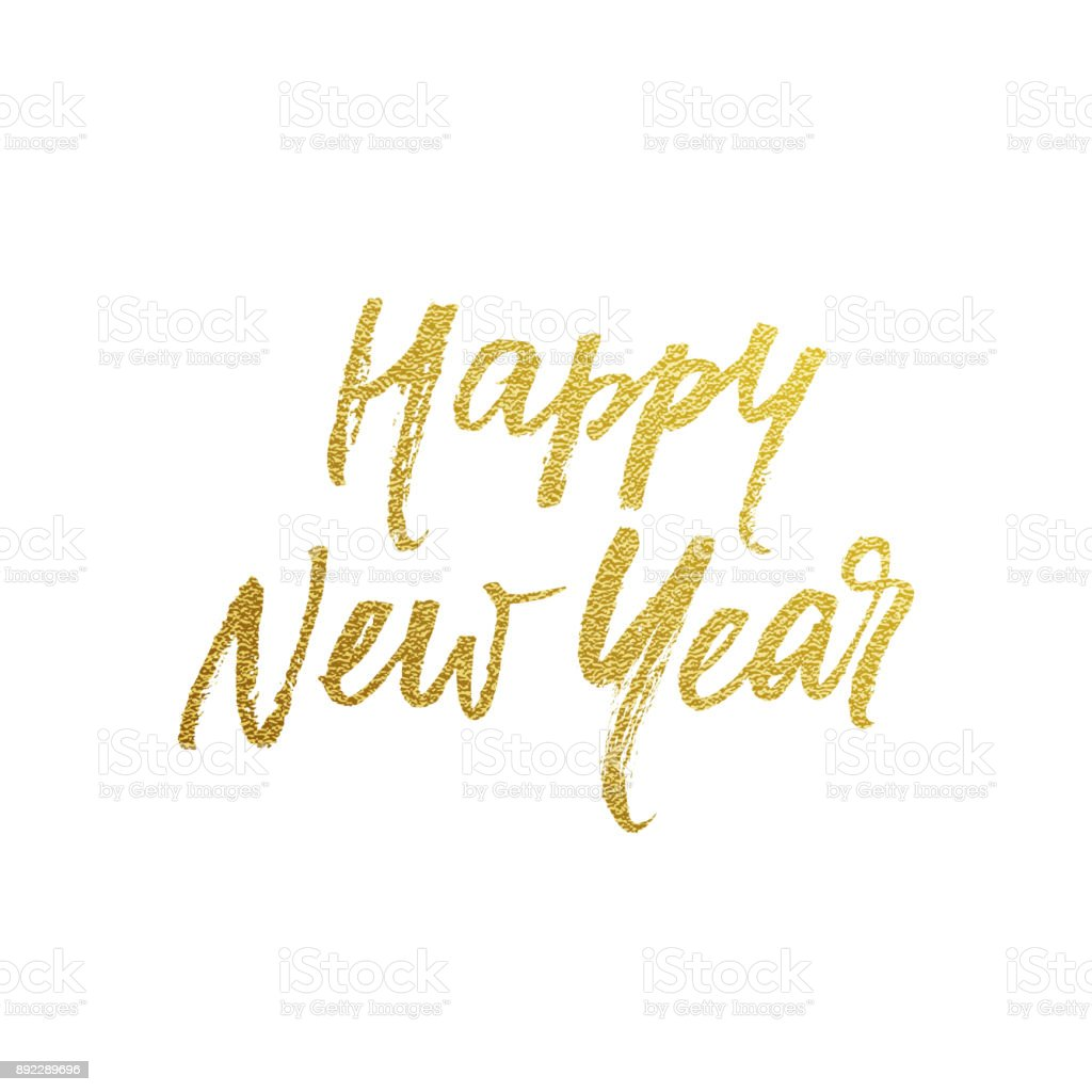 Happy New Year Font 19