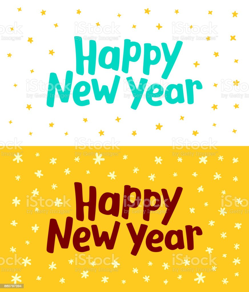happy new year greeting card vector template royalty free happy new year greeting card vector