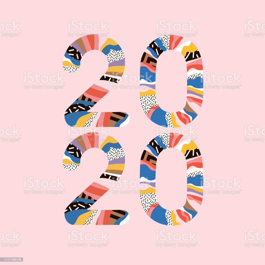 2020 Mutlu Yeni Yil Yazit Mutlu Yeni Yil 2020 Ile Tebrik Karti