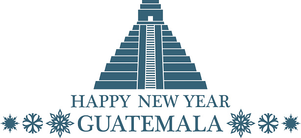 Happy New Year Guatemala Stock Illustration - Download ...