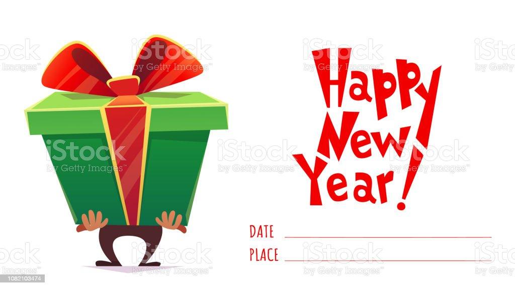 Ilustración De Feliz Año Nuevo Día De Fiesta Celebración