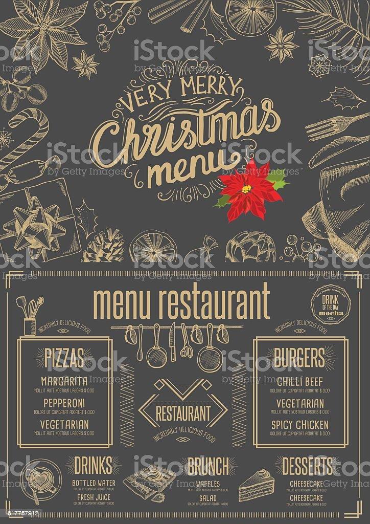 Happy new year party invitation restaurant christmas food menu stock happy new year party invitation restaurant christmas food menu royalty free happy new stopboris Images
