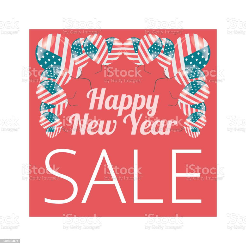 happy new year sale banner royalty free happy new year sale banner stock vector art
