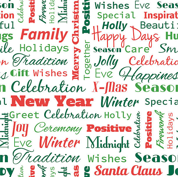 Christmas words that start with n