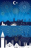 istock Happy New Year İstanbul 1343842425