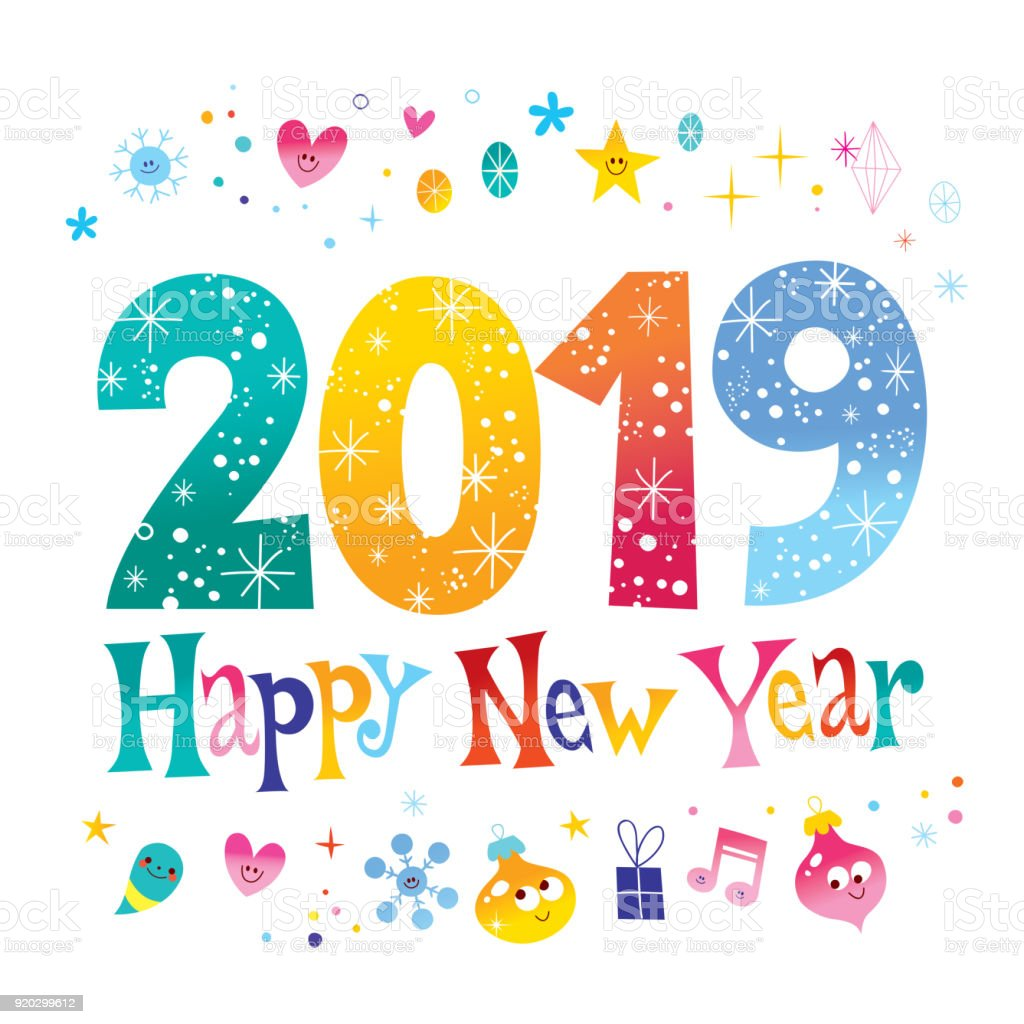 Image result for happy new year free images 2019