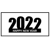 istock 2022 Happy new year vector background. Cover of card for 2022 Creative design for your greetings card, calendar, brochure, notebook 1284683998