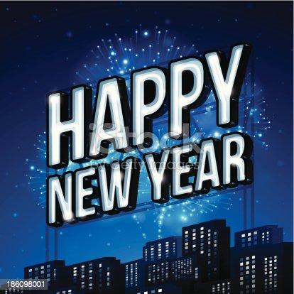 istock Happy New Year! 186098001