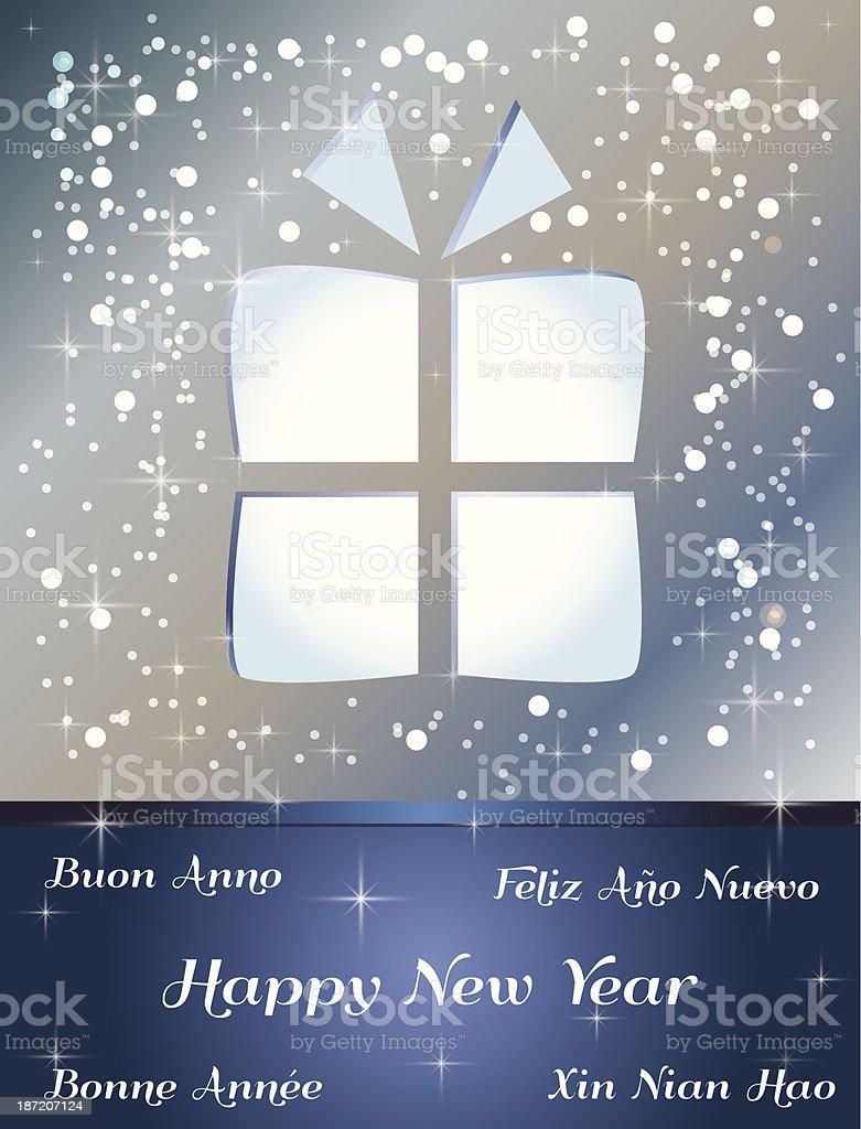 Happy New Year royalty-free stock vector art