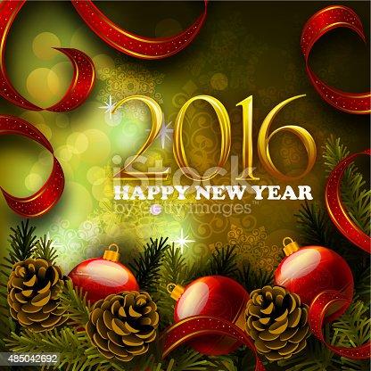 istock 2016, Happy New Year 485042692