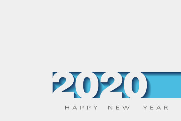 2020 happy new year, year of the rat, design 3d, illustration,Layered realistic, for banners, posters flyers 2020 happy new year, year of the rat, design 3d, Vector illustration,Layered realistic, for banners, posters flyers 2020 stock illustrations
