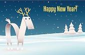 Happy New Year_Reindeer