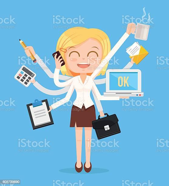 Happy office woman character vector id605739690?b=1&k=6&m=605739690&s=612x612&h=wri knx9mpfviucezxh3 k1copvqityteftaowwwnyq=