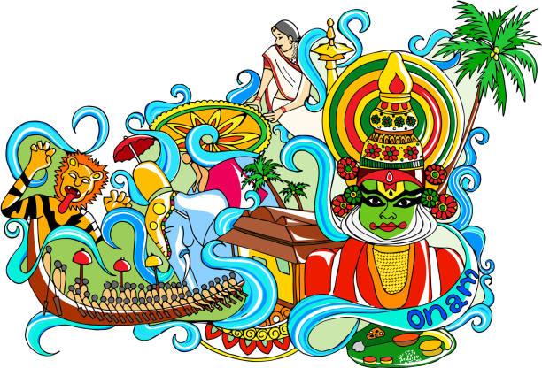 Best Kerala Illustrations, Royalty-Free Vector Graphics ...
