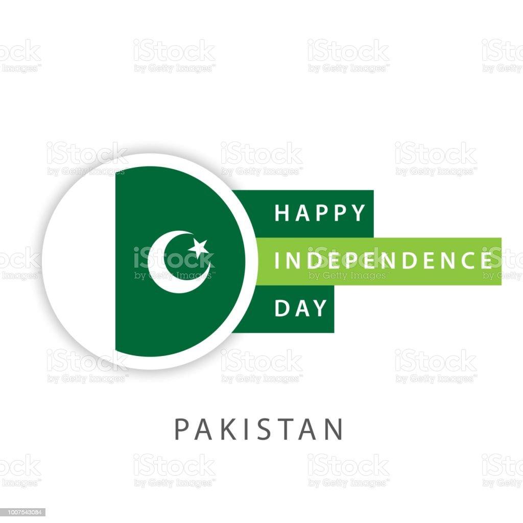 Ilustración de Pakistán Feliz Día De La Independencia Vector ...