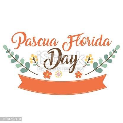 istock Happy Pascua Florida Day 1213239119