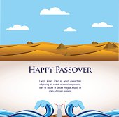 happy Passover- Out of the Jews from Egypt.