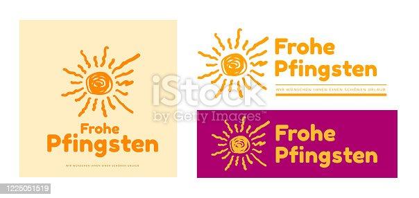istock Happy Pentecost 1225051519