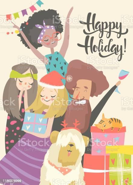 Happy people celebrate an important event joyful emotions vector id1186378999?b=1&k=6&m=1186378999&s=612x612&h=s9u 3buwg3pj tipvtx2y3oz3crgowwowafvvr8ogg4=