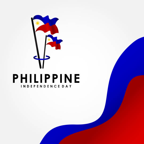 Happy Philippines Independence Day Vector Design Illustration For Celebrate Moment vector art illustration