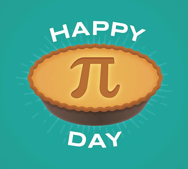 happy pi day - pie stock illustrations, clip art, cartoons, & icons