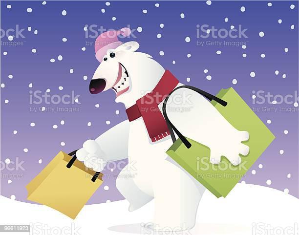 Happy Polar Bear-vektorgrafik och fler bilder på Björn