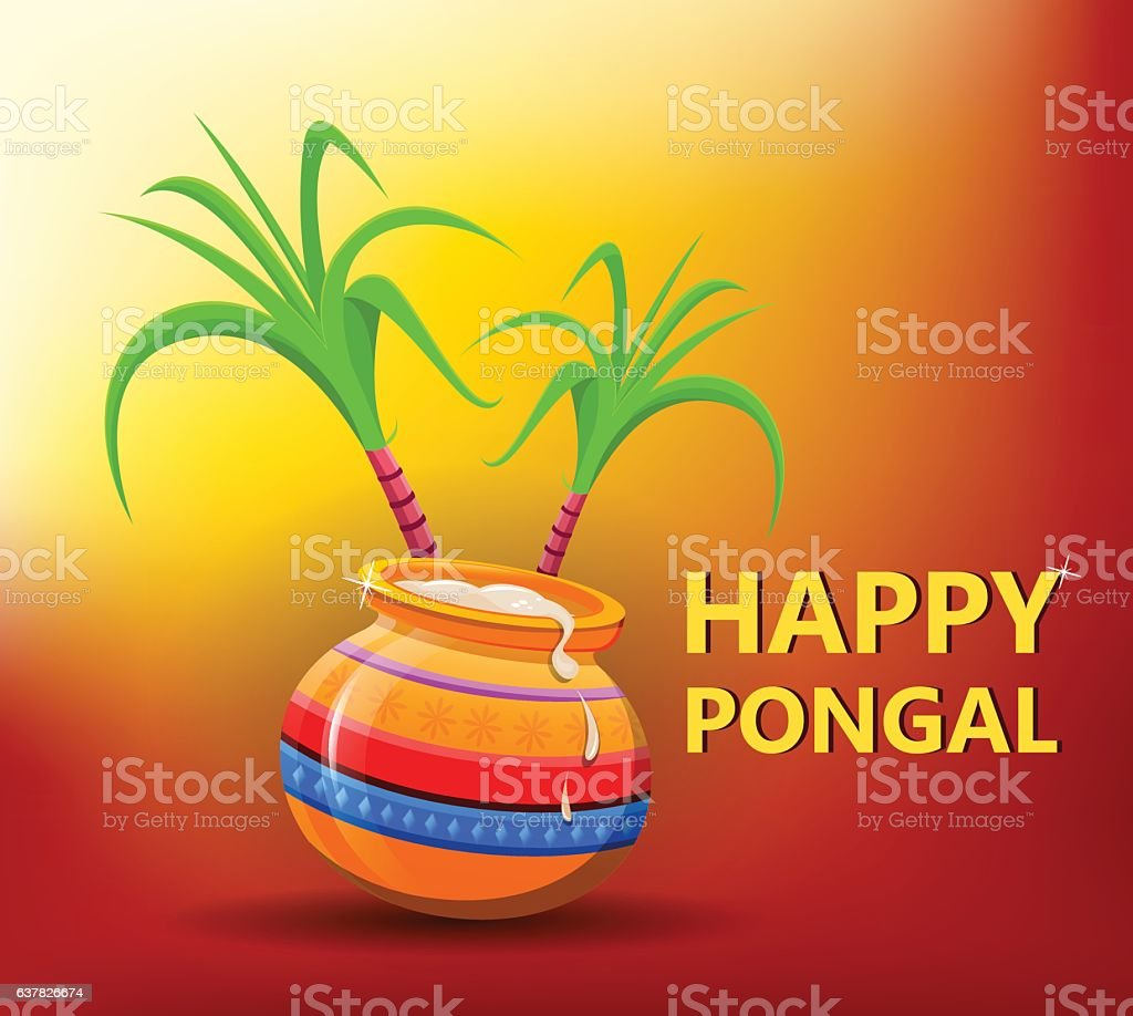 Happy pongal greeting card on bright sunny background makar happy pongal greeting card on bright sunny background makar sankranti royalty free happy pongal m4hsunfo